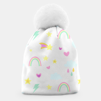 Thumbnail image of Weather Pattern Beanie, Live Heroes