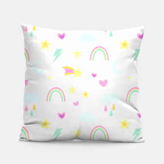 Thumbnail image of Weather Pattern Pillow, Live Heroes