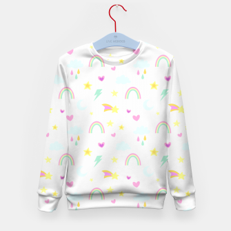 Thumbnail image of Weather Pattern Kid's sweater, Live Heroes