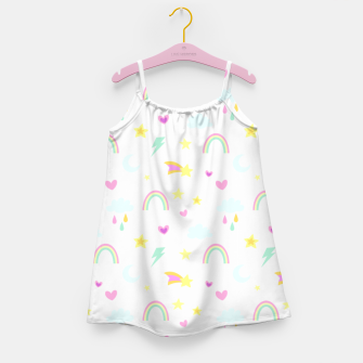 Thumbnail image of Weather Pattern Girl's dress, Live Heroes