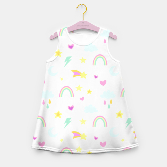 Thumbnail image of Weather Pattern Girl's summer dress, Live Heroes