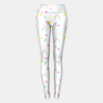 Thumbnail image of Weather Pattern Leggings, Live Heroes