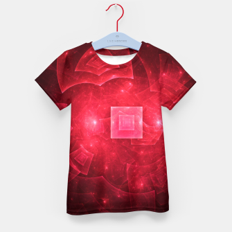 Thumbnail image of Red Square Universe Kid's t-shirt, Live Heroes