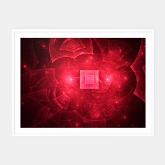Thumbnail image of Red Square Universe Framed poster, Live Heroes