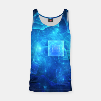 Thumbnail image of Blue Square Universe Tank Top, Live Heroes