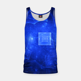 Thumbnail image of Blue Square Universe 2 Tank Top, Live Heroes