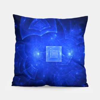 Thumbnail image of Blue Square Universe 2 Pillow, Live Heroes