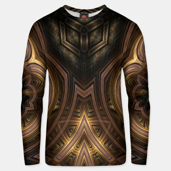Thumbnail image of Cube Core Golden Rings Unisex sweater, Live Heroes