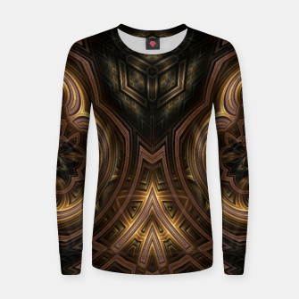 Thumbnail image of Cube Core Golden Rings Women sweater, Live Heroes