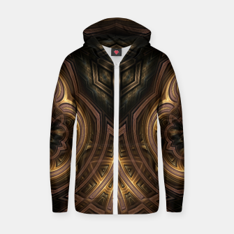Thumbnail image of Cube Core Golden Rings Zip up hoodie, Live Heroes