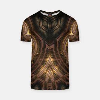 Thumbnail image of Cube Core Golden Rings T-shirt, Live Heroes