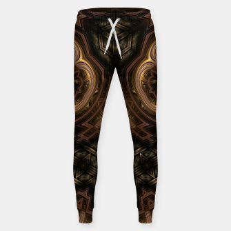 Thumbnail image of Cube Core Golden Rings Sweatpants, Live Heroes