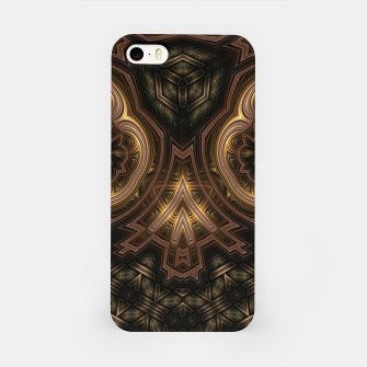 Thumbnail image of Cube Core Golden Rings iPhone Case, Live Heroes