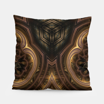 Thumbnail image of Cube Core Golden Rings Pillow, Live Heroes