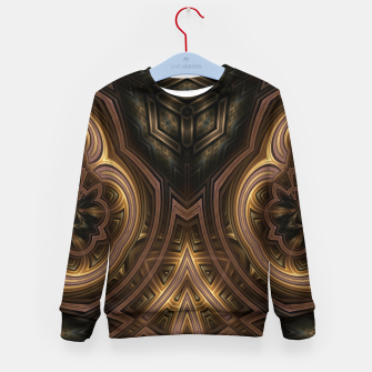 Thumbnail image of Cube Core Golden Rings Kid's sweater, Live Heroes