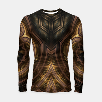 Cube Core Golden Rings Longsleeve rashguard