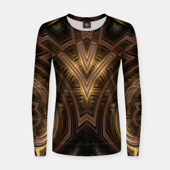 Thumbnail image of Cube Core Golden Rings FV Women sweater, Live Heroes