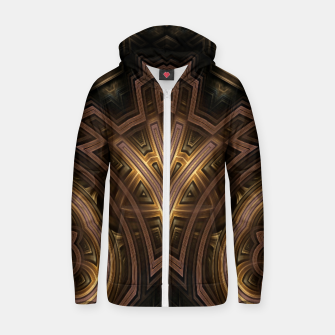 Thumbnail image of Cube Core Golden Rings FV Zip up hoodie, Live Heroes