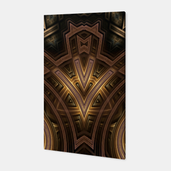 Thumbnail image of Cube Core Golden Rings FV Canvas, Live Heroes