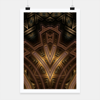 Thumbnail image of Cube Core Golden Rings FV Poster, Live Heroes