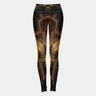 Thumbnail image of Cube Core Golden Rings FV Leggings, Live Heroes