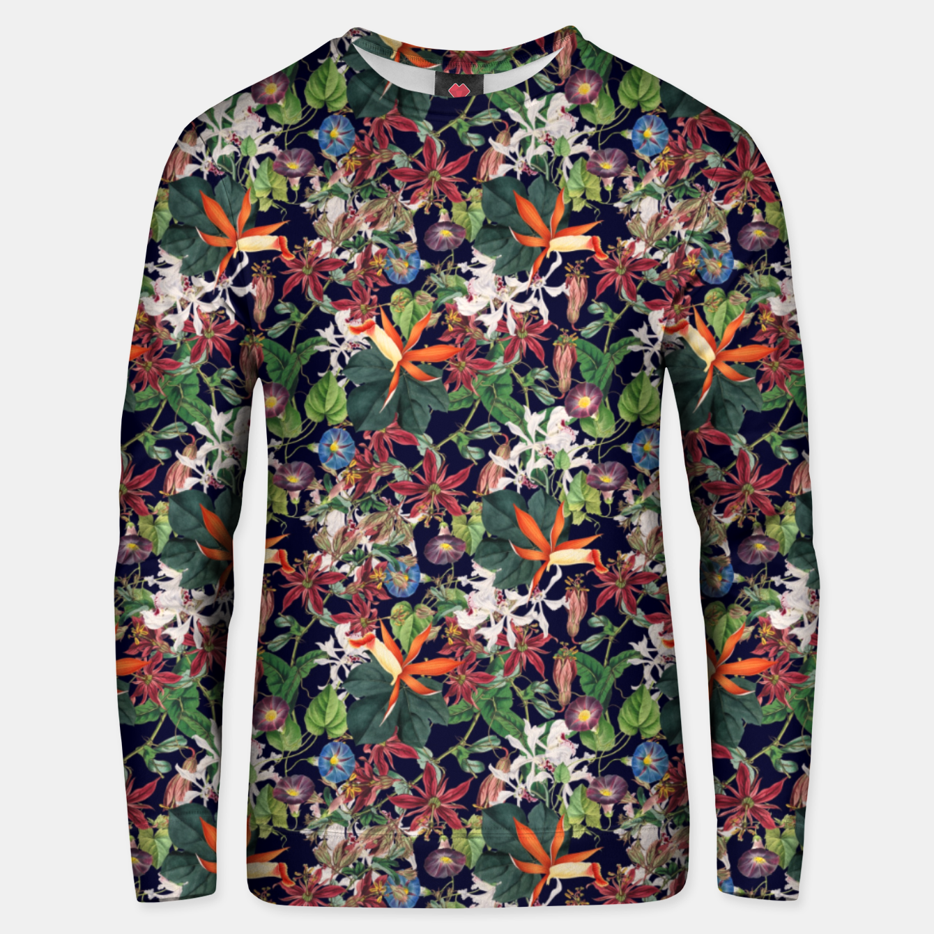 Foto Botanical Flowers Unisex sweater - Live Heroes