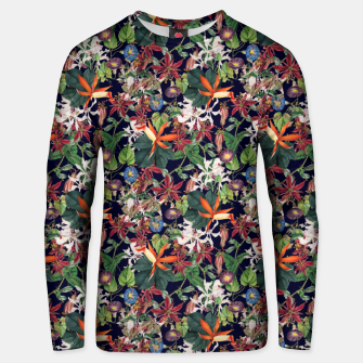 Thumbnail image of Botanical Flowers Unisex sweater, Live Heroes
