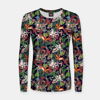 Botanical Flowers Women sweater Bild der Miniatur
