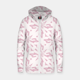 Thumbnail image of Ornate Flowers Zip up hoodie, Live Heroes