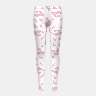 Thumbnail image of Ornate Flowers Girl's leggings, Live Heroes