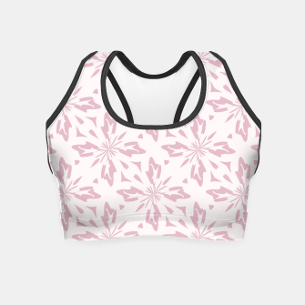 Thumbnail image of Ornate Flowers Crop Top, Live Heroes