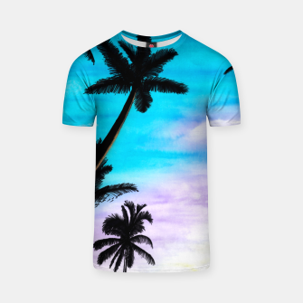 Thumbnail image of Sunset Palms T-shirt, Live Heroes