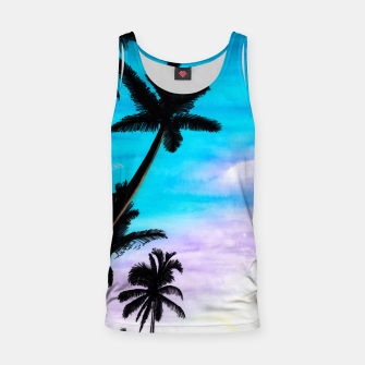 Thumbnail image of Sunset Palms Tank Top, Live Heroes