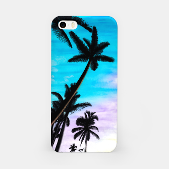 Thumbnail image of Sunset Palms iPhone Case, Live Heroes