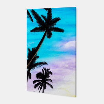 Thumbnail image of Sunset Palms Canvas, Live Heroes