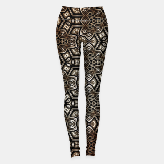 Metal Rust Pat5525 Leggings