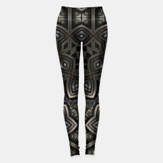 Metal Plating Pat5501 Leggings
