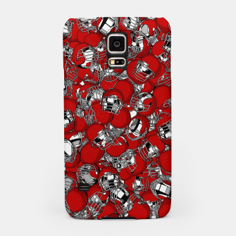 Thumbnail image of Dual-Threat Quarterback American football helmet pattern Samsung Case, Live Heroes