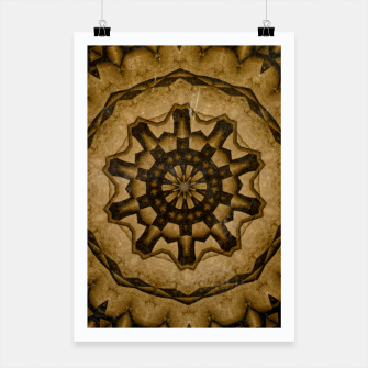 Thumbnail image of coffee and tea kaleidoscope Poster, Live Heroes