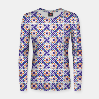 Thumbnail image of Original Traditional Moroccan Mosaic.  Women sweater, Live Heroes