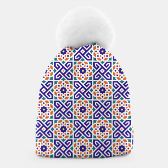 Thumbnail image of Original Traditional Moroccan Mosaic.  Beanie, Live Heroes