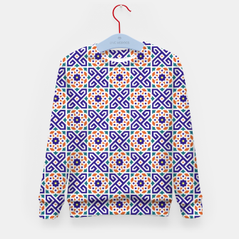 Thumbnail image of Original Traditional Moroccan Mosaic.  Kid's sweater, Live Heroes