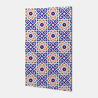 Thumbnail image of Original Traditional Moroccan Mosaic.  Canvas, Live Heroes