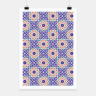 Thumbnail image of Original Traditional Moroccan Mosaic.  Poster, Live Heroes