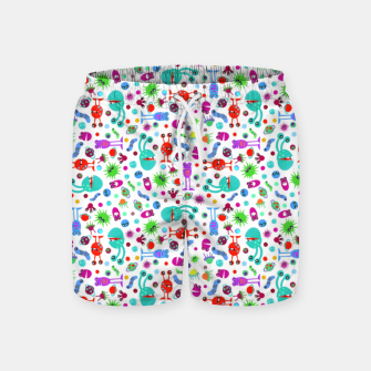 Thumbnail image of Moon Landing Monsters – Swim Shorts, Live Heroes