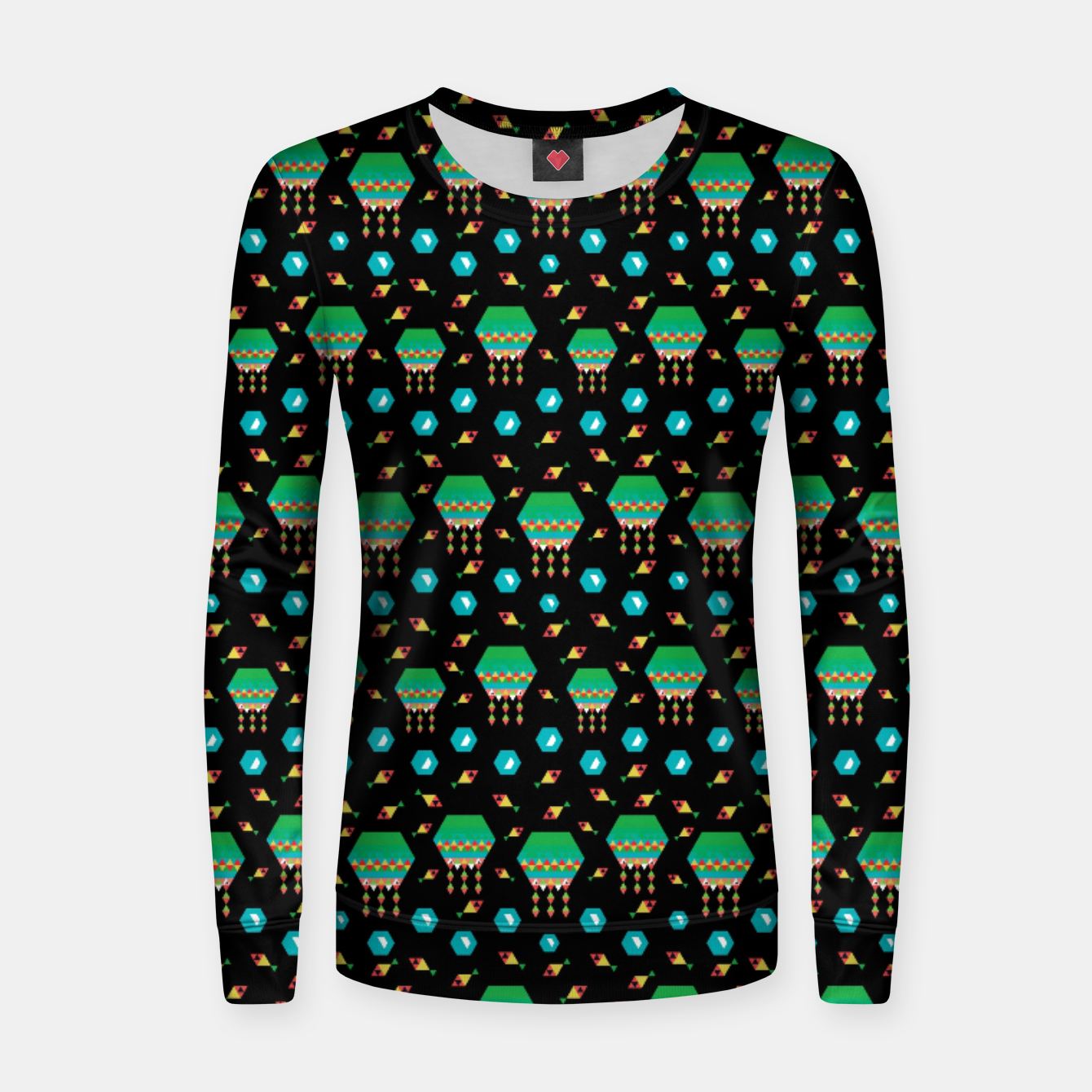 Image of Lucys Jellyfishes – Women sweater - Live Heroes