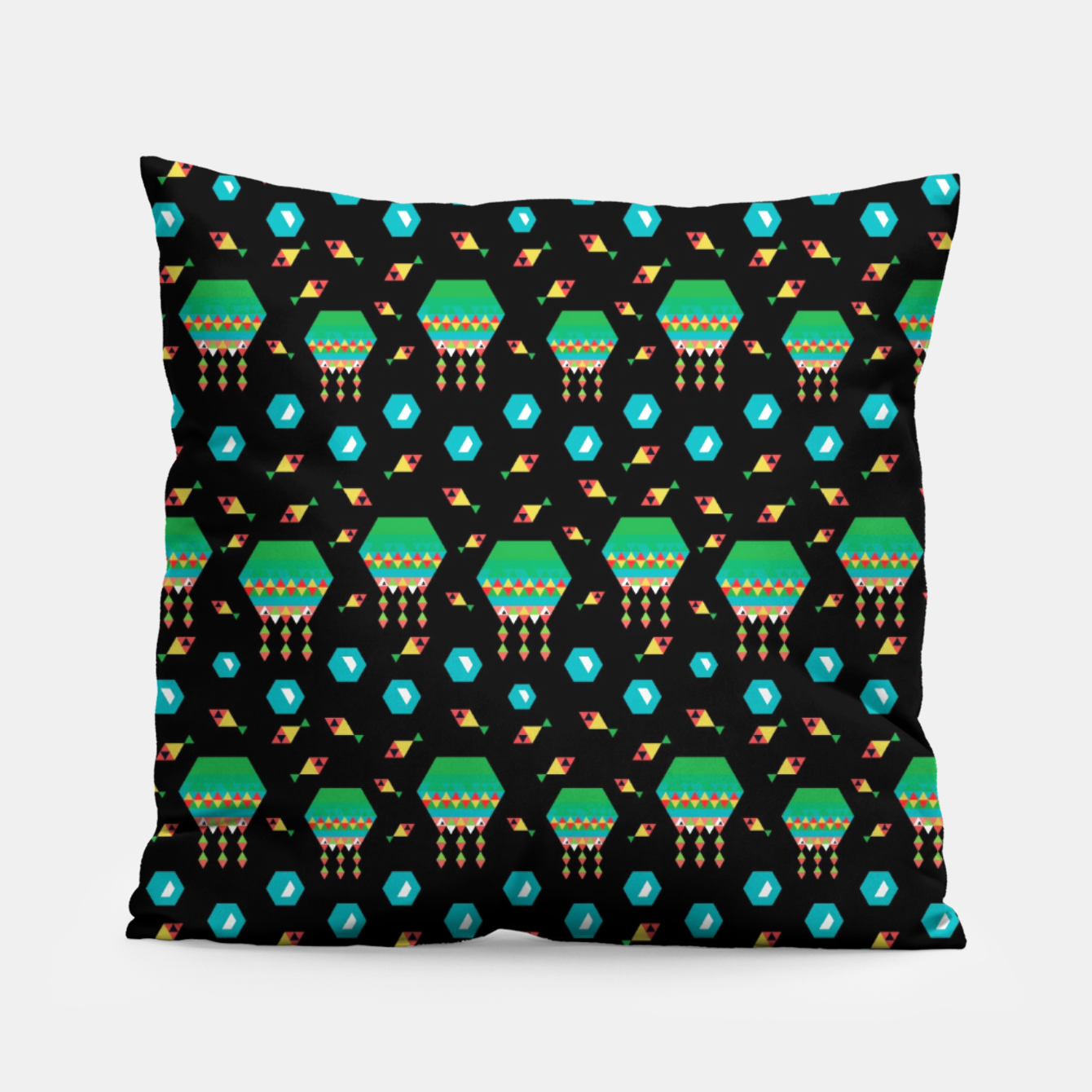 Image of Lucys Jellyfishes – Pillow - Live Heroes
