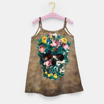 Miniatur Rose Garden Skull Girl's dress, Live Heroes