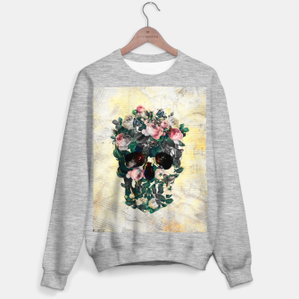 Rose Garden Skull Sweater regular Bild der Miniatur