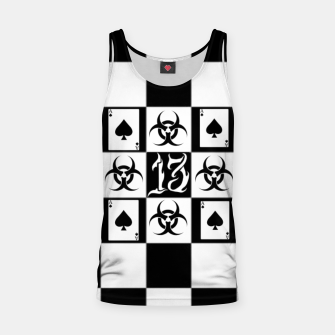 Miniatur Chess Tank Top, Live Heroes
